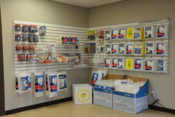 Merchandise available at Acorn Mini Storage Blaine