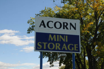 Outdoor sign of Acorn Mini Storage