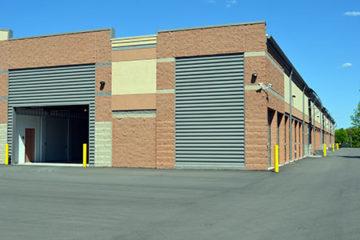 Exterior of Champlin, Minnesota Storage Units