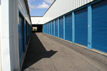 Outdoor Minneapolis Self Storage Units