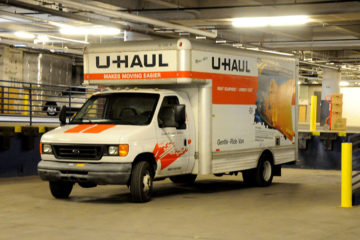 St. Paul Location U-HAUL Trucks